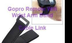 Nylon Velcro WiFi Remote Hand Wrist Armband Strap Belt for GoPro Hero3 $7.08 -Material Nylon -Compatible Camera Models GoPro Hero 3 -Functions Carry the Wi-Fi Remote of GoPro Hero 3 -Length: 23cm -Wifi Strap keeps your GoPro Hero 3 Wifi Remote attached to