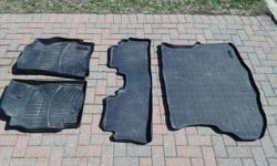 I sold my SUV, but kept these fantastic mats to sell separately. Zero leaks. My factory carpet was perfect under these. This package new costs 428.85+tx = $484.60 I am selling gently used for just $200 firm. (See links below to verify the value):