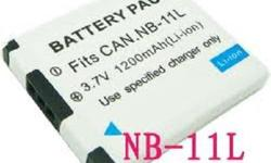 Compact and high-performance Li-ion battery for your standard use. Advance Li-ion technology improved energy density. -Short circuit and overload protection -A Class Li-ion Battery Cell -Capacity: 1000 to 1200 mAh -Voltage: 3.7V (compatible with 3.6V)