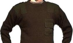 "COMMANDO SWEATERS  Heavy 100% acrylic ribbed knit Rugged and flexible comfort for active people!     Features:   Brand New Stock - not used! Crew neck Heavy duty 100% acrylic (non shrink) ribbed knit Extra long comfortable body prevents ""ride-up?"