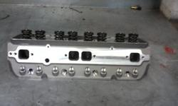 """Here are some of the specs for these fully assembled aluminum cylinder head; Intake Port Volume---------------210cc Combustion Chamber-------------59cc Intake Valve Size-----------------2.20"""" Exhaust Valve Size---------------1.60"""" Valve Stem"""