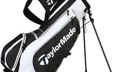 Brand new Taylor made golf carry lite stand bag, Light weight. Blue/White.