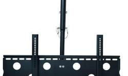 """Brand New Sealed in Retail Package. TygerClaw 32"""" - 60"""" Tilt Ceiling Mount (CLCD103BLK) This TygerClaw CLCD103BLK Tilt Ceiling mount is designed for most 32"""" to 60"""" flat-panel TVs up to 176lbs/80kgs with tilt degree up to +15?, swivel degree up to 360?,"""