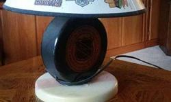 FULLY WORKING hockey lamp, features many teams and their old logos, most notably the Islanders with their old Fisherman logo, and the old Canucks logo. Pickup in the Charleswood area! Email - pgrimsley@shaw.ca Phone - ( Text perfered ) 204-880-2879