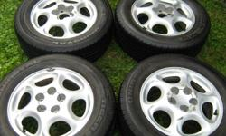 16x6.5 5 lug 4.53 inch or 115mm -Off of 1998 Oldsmobile Intrigue -Never any flats -Come as shown
