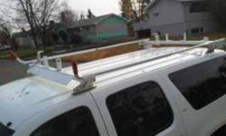 Weather Guard Ladder Rack. Awesome shape. Great for your own Suburban or Van. $300 obo