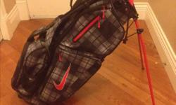 Brand New Nike Golf Bag, bought as a gift last year, never used! Please contact Jason @ 250-885-0037.