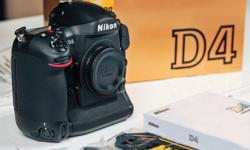 I am selling my Nikon D4 Professional camera body to upgrade. It is in excellent condition, not a scratch on it. If you're looking at the D4 you already know this camera is all about fast shutter bursts at 10 frames/sec and low light shooting with very