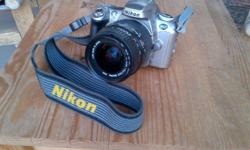 Nikon F55 SLR Camera Not digital With 28-80 mm Sigm Zoom lens made in Japan Needs 2 x CR2 lithium batteries Has not been used much $90