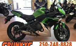 Make Kawasaki Model Ninja Year 2016 kms 39928 Just In, Serviced and ready to go! Plus $189 Doc Fees and Tax. Financing Available OAC, Call For More. Full service records available