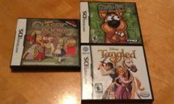 Junior Classic Books. Scooby-Doo Who's Watching Who? Disney Tangled 5.00 each.