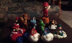 10 Mario toys.