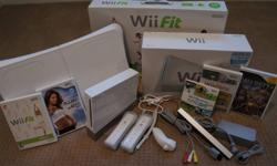 Nintendo Wii Game Console Sports Edition + Wii Balance Board & 5 Games! Wii Sports - Wii Play - Wii Fit Jillian Michaels (Fitness Ultimatum 2010) Call Of Duty 3 ! Everything is included in this complete package... Nintendo Wii Game Console & Wii Balance