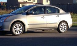 Make Nissan Colour Grey Trans Automatic kms 52370 2012 NISSAN SENTRA -- 2.0 L S Excellent conditions car and Fully Loaded. Low millage car, only 52378 Km on it. comes with set of four Michelin winter tires on the rim. Automatic Transmission. Can get it