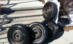 Toyo Observe GSi-5 used only one season - still has great tread size: 195 / 65 / 15