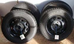 4 Goodyear Nordic P175/70R13 tires and rims tires are barely used rims are from 95 Honda Civic CX tires are balanced Take a look at the dimensions of the 4 bolt pattern in picture to see if it might fit your car