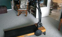 Nordic Trac WalkFit Treadmill, like new. VHS Instructional Videos, exercise computer. No power required