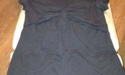 Earth mom and baby black breast feeding shirt. Like new. Size medium This ad was posted with the Kijiji Classifieds app.