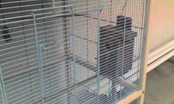 FOR SALE OCALA FLIGHT CAGE, BASICALLY A LARGE BIRD CAGE,APROX  5FT HIGH ,, 3.5FTWIDE,,2FTDEEP, COMES COMPLETE WITH WHEELS AND MATING BOX.. IT'S ABOUT 3 YRS OLD AND IN GREAT SHAPE.   CALL LISA @604-539-0919 or email me back