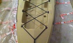 I have two Trident 13 Fishing Kayaks for sale. One is Camo the other is Tan. Boats are brand new and never been used. Seats included. I have another that I used myself all last year (that I am keeping) and they are great boats. Very stable, paddle easy,