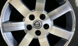 "Set of 4 17"" oem Nissan wheels with all center caps and A shape. Price is $60.00 each for the wheels perfect for winter or summer. Installation and balance is also available."