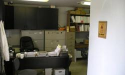 Various desks,chairs&file cabinets steel desks with wood tops $50 -2 available wooden black with corner and attached book shelves $50-2 available rolling work desks adjustable heights with enamel brace and bracket shelve unit and over head desk rail. $75