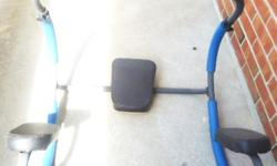 Official Ab Trimmer/Roller With Headrest PRICE: $30 ($89.99) - cushioned head rest - cushioned arm rest - excellent condition - see pics Pick-up only - North York