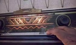 Hi, i have a budding interest in old (often German made) FM Tube Radios. Please email, call, or text if you have one to offer, thanks...Bob 613-617-6456