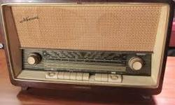 Hi, i recently have become a tube radio enthusiast and there are a lot of German made tube radio models, i would love to purchase one. I prefer one with FM, so a German radio that was made to be used in North America would fit the bill. Please contact me