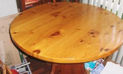 Old kichen pine table