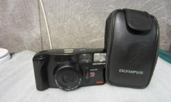 OLYMPUS AZ1 ZOOM 35MM FILM CAMERA Focus Type: Auto Brand: Olympus Features: Built-in Flash, Shooting-Modes Model: AZ-1 Bundled Items: Case/Bag Film Format: 35mm Country/Region of Manufacture: Japan ORIGINAL OLYMPUS CASE INCLUDED . TESTED HERE AND