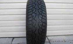 ONE (1) GENERAL ALTIMAX ARCTIC WINTER TIRE SIZE /205/70/15/ EXCELLENT TREAD REMAINING, LIKE NEW, ASKING $60 ( NO E-MAILS ) CALL (613)882-4075