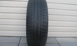 ONE (1) MICHELIN X-ICE WINTER TIRE SIZE /205/65/16/ GOOD TREAD REMAINING, ASKING $30 ( NO E-MAILS ) CALL (613)882-4075