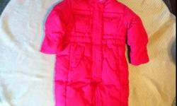12-18 mth Gap one piece down filled snowsuit, in like new condition. Very warm. Smokefree home. This ad was posted with the Kijiji Classifieds app.