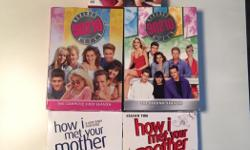 One Tree Hill Season 1, Beverly Hills 90210 Season 1 and 2, How I Met Your Mother Seasons 1 and 2. $5 each.