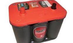 TooFastMotors team is currently carrying Optima batteries line, We can get: Red Top: Strongest 5 second starting burst Up to 2x longer life More than 15x the vibration resistance Completely spill-proof, mountable in many positions Maintenance free Faster