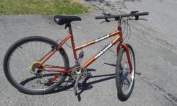 "18 speed, 26"" tire moutain bike good for someone 5'4"" to 5'9"". Pickup in kanata. check out my other ads too."