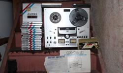 Original Bill of Sale (1 Owner) Original Operating manual Comes with editing tape, cleaners, and over 15 blank recording reels!!!! $500 o.b.o. Get the original sound the pros used!!!!