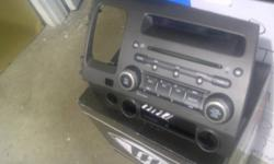 Used In Dash CD Player   Fits 06-09 Honda Civics   Original Honda Deck   $50   Pickup Only   Email to arrange a time to pick up the unit.