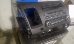Used In Dash CD Player   Fits 06-09 Honda Civics   Original Honda Deck   $50.00   Pickup Only   Email to arrange a time to pick up the unit.