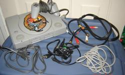 Original Sony Playstation with one controller, several attachments, carrying case and 6 different games!! Great as a christmas gift for the old school gamer!!