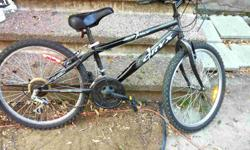 """Oryx Mountain Bike, 13"""" Frame, 24"""" wheels Bike is in very good condition. Suitable for someone 4'0""""-5'0"""" Asking $85."""