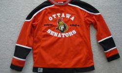 Ottawa Senators Hockey Jersey Size: 10/12 (Medium Youth) By MightyMac 100% Polyester In great condition / used only once Located in Barrhaven