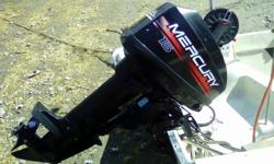 1999 Mercury OutBoard for sale, 15 hp short/shaft . I am selling because it's to small for my boat. will deliver to Port Alberni as I live in Pachena Bay, Bamfield. oh ya it's a 2 stroke!!