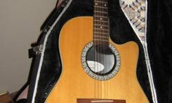 This is one of the most beautiful sounding electric acoustic guitars made Comes with original hard case didgital tuner extra martin ultra light strings and two guitar stands Call Bernie 705-692-5244 I am not always on line so call this will sell fast