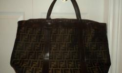 Oversized Designer Purse - Can be used to Carry Laptop or Diaper Bag - In Excellent Condtion
