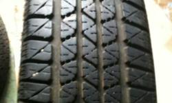 I have a set of 2-P165/80R13 Motomaster All season AW+ tires for sale that are in like new condition. Tires have about 85-90 percent tread left and are in really nice shape, price is $30 each. If interested call Cody@780-278-6446. This ad was posted with