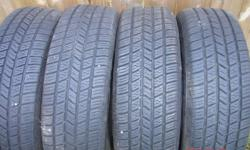 Hankook milage plus M+S like new P205/75/R14 call or text 416 891 8484