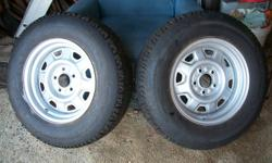 2-P205 75R 15 Wintermark Magna Grip tires for sale. 85-90% tread left. No patches or plugs and in excellent condition. Rims not included. Asking $100.00.   Note: Tires are in Cape Breton but may be brought to Halifax.   E-mail if interested.