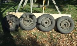 Winter tires and rims barely used 500obo. Came off a 99 grand am gt